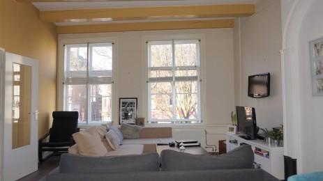 Appartement huren aan de Hooigracht in Leiden